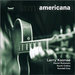 album cover Americana - Larry Koonse leader