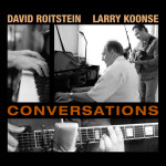 photographic album cover of David Roitstein and Larry Koonse